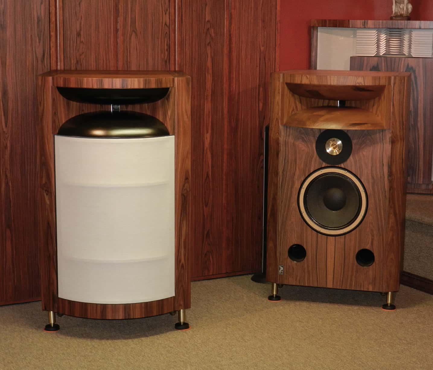 Classic Audio Loudspeakers High End Field Coil Horn Speakers